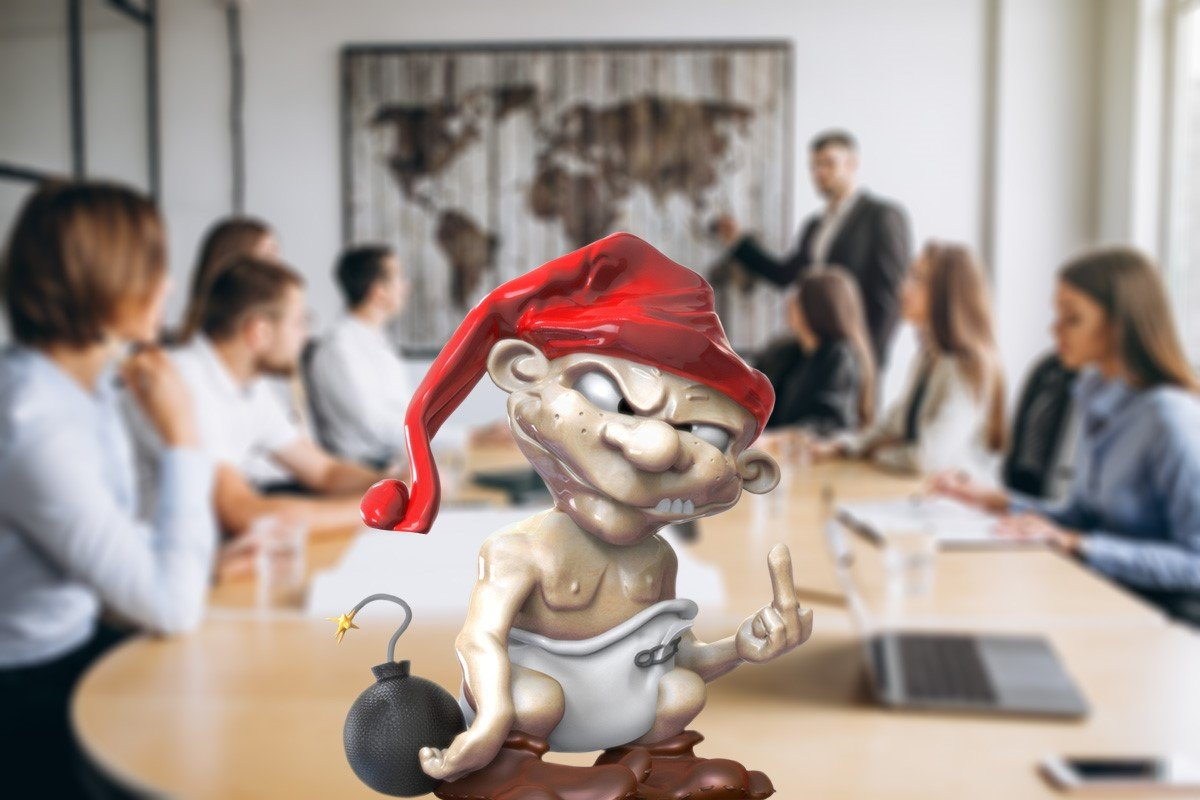 Activist Investors - a dwarf in the middle of a board of directors